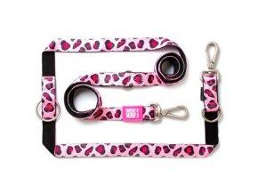 max molly voditko prepinaci xs pink leopard delka 200 cm sirka 1 0 cm i68313