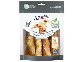 Dokas – Rolky z králičí kůže s kuřecím filetem 150 g