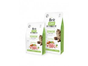brit care cat grain free senior and weight control r