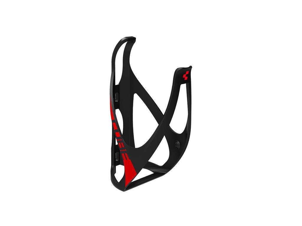 Košík CUBE Bottle Cage HPP černá/červené 13014