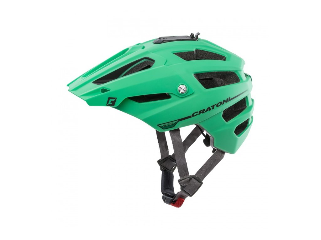 Přilba CRATONI AllTrack green-black rubber