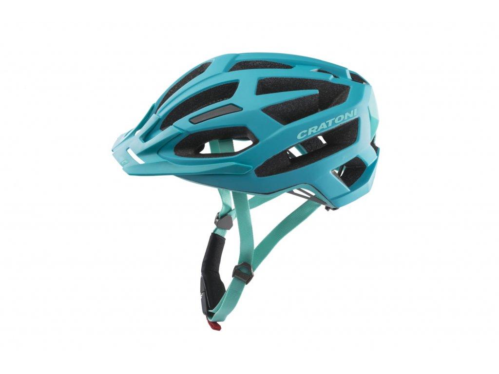 Přilba Cratoni C-Flash turquoise-blue matt
