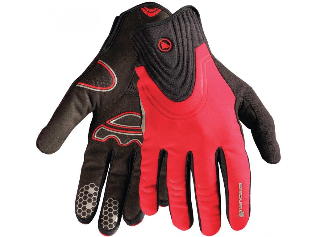 Endura Windchill rukavice červená E0075R