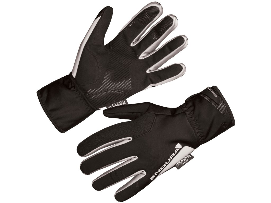 Endura Deluge II rukavice Black E1145BK