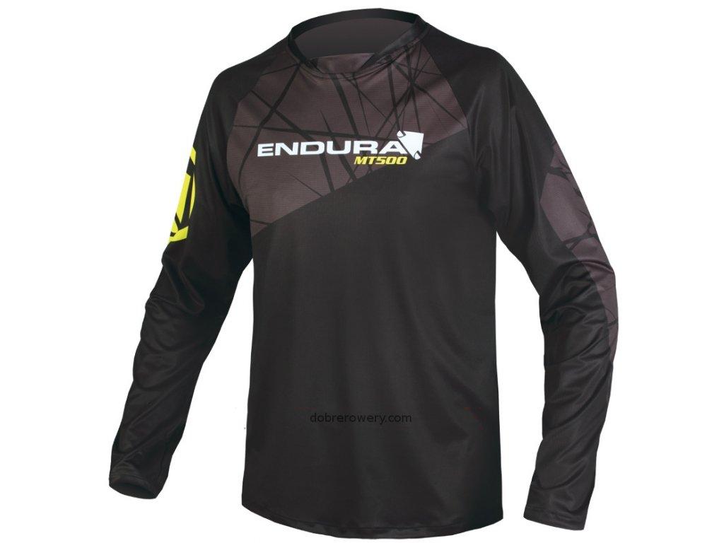 Dres Endura MT500 Print, černý - E3087