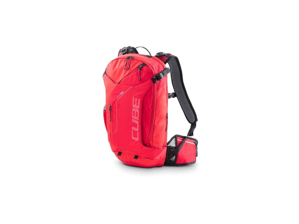 Batoh Cube Backpack EDGE TRAIL red