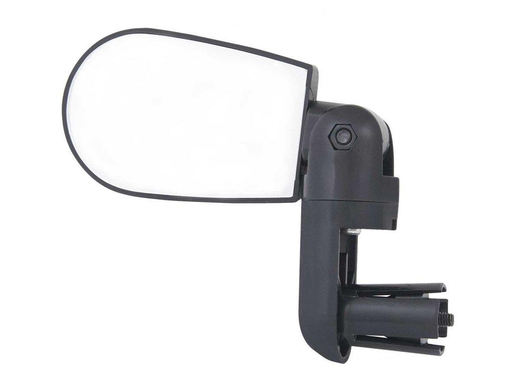 zpětné zrcátko F MINI na řídítka oboustranné,černé