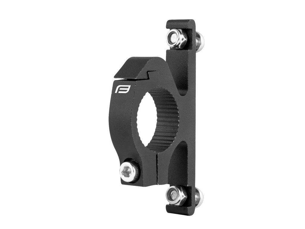 držák košíku na řídítka Ø 25.4 mm, Al, černý