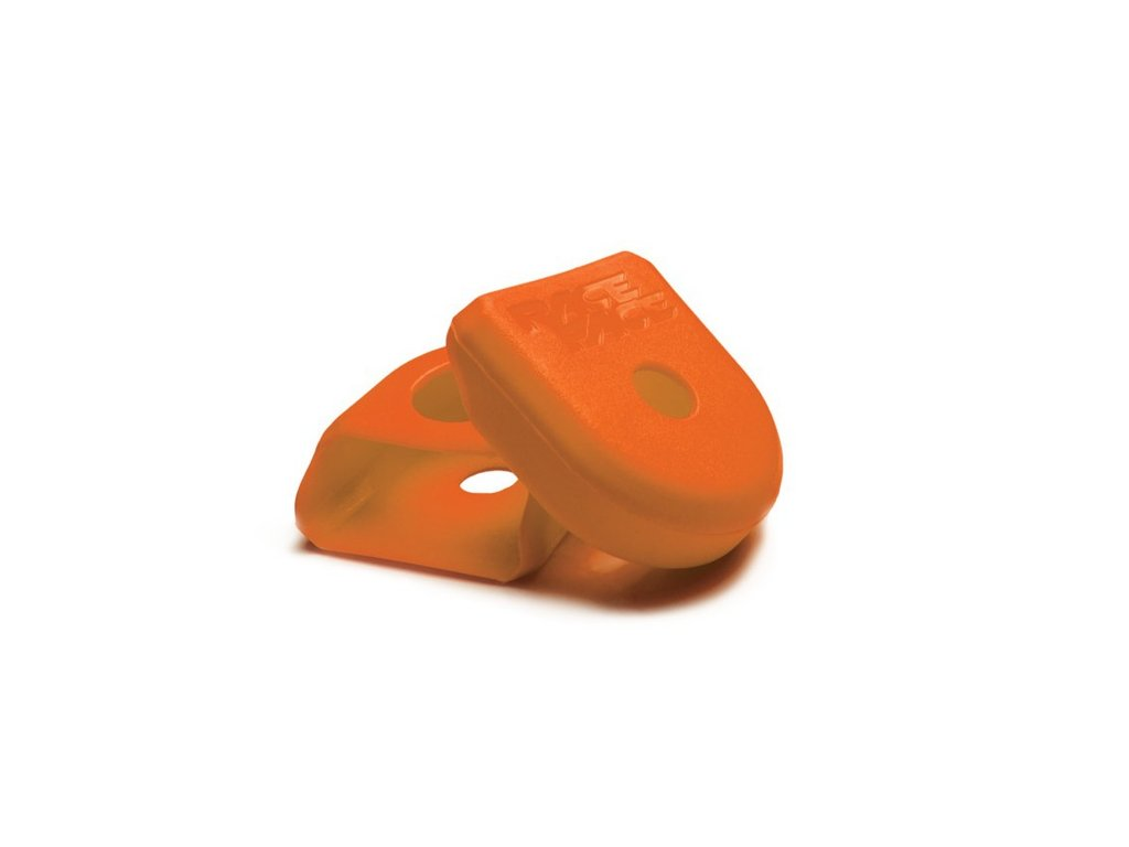 RACE FACE CRANK BOOT 2-pack, ochrana hliníkových klik small oranžová