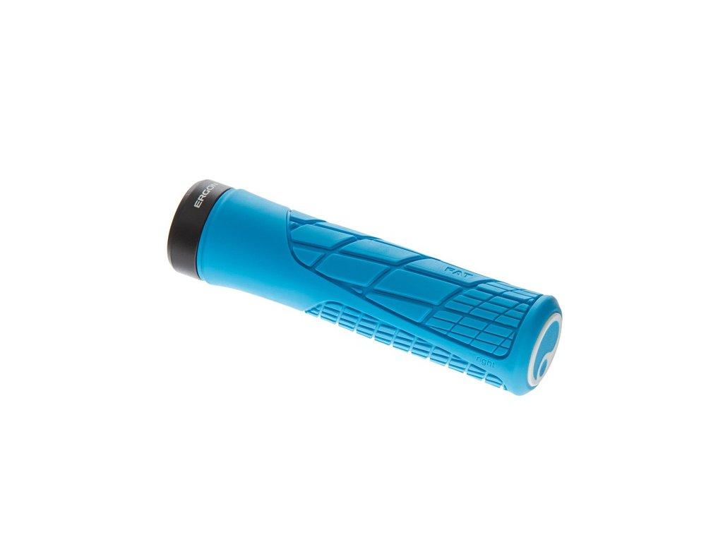 ERGON gripy GA2 Fat modrá