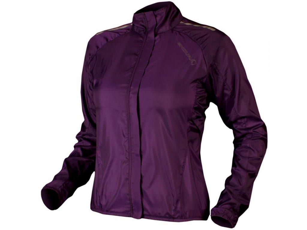 endura pakajak womens jacket purple rutland cycling