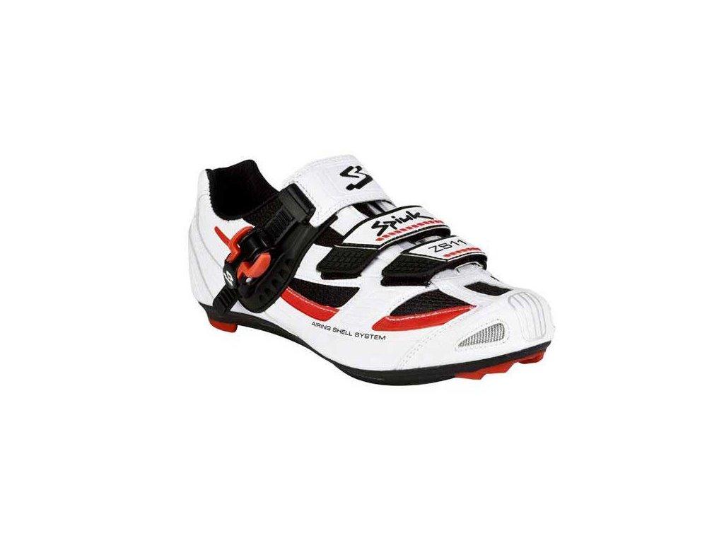 Tretry Spiuk MTB ZS11 white-black-red