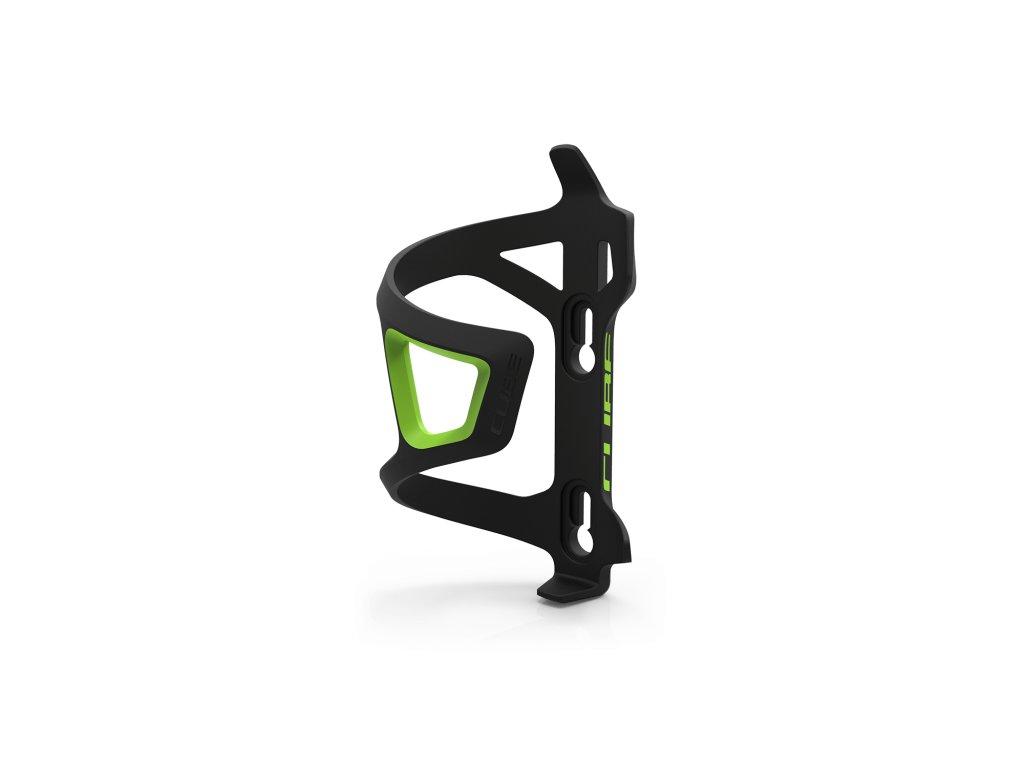 Košík CUBE Bottle Cage HPP-Sidecage černo/zelená