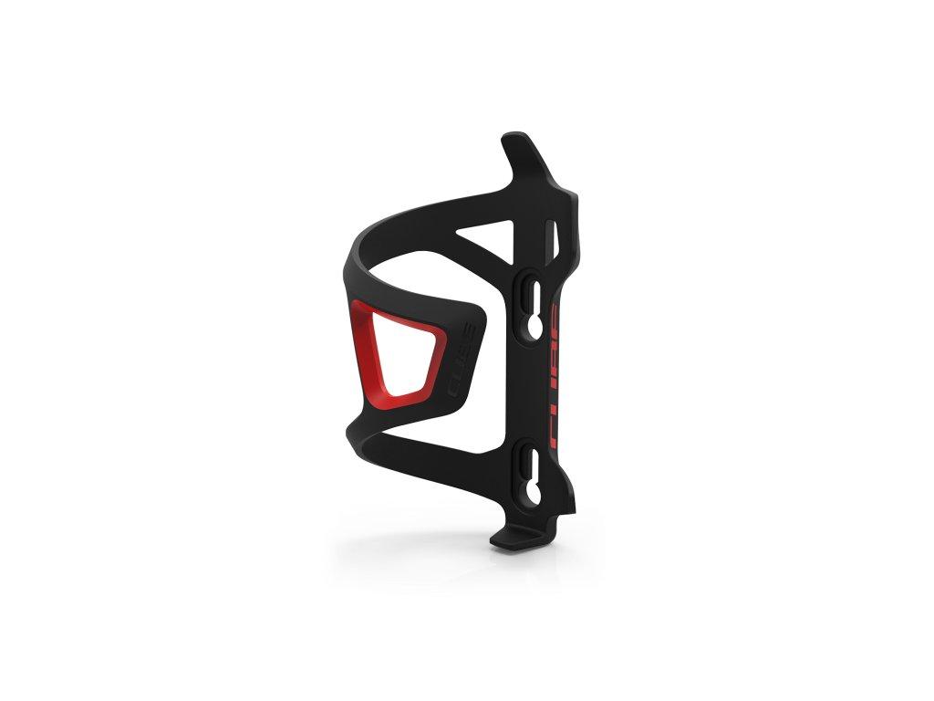 Košík CUBE Bottle Cage HPP-Sidecage černo/červená