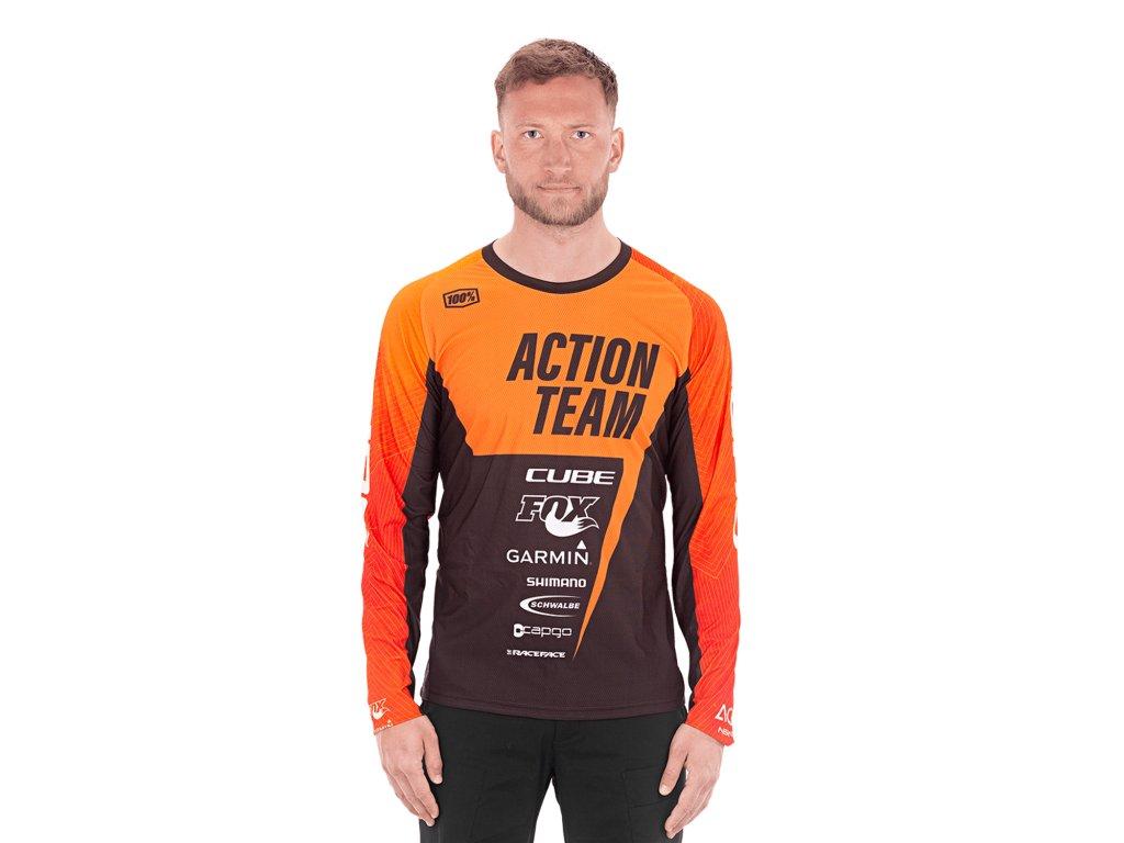 Dres Cube EDGE Round Neck Jersey L/S X Actionteam