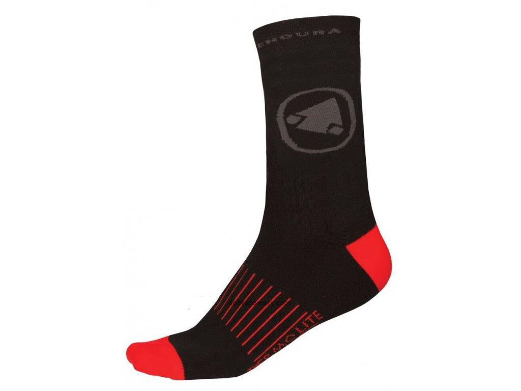 Ponožky Endura Thermolite II (2-balení) - E1038BK