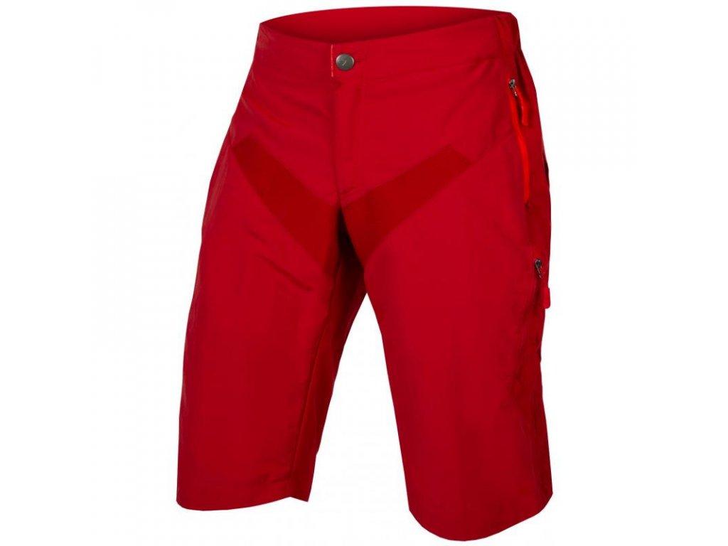 Kraťasy Endura Singletrack LTD červené - E8081RR