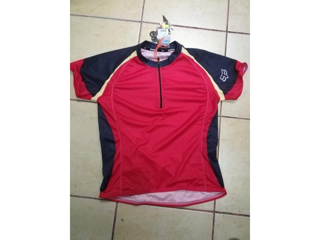 dres Fox Girls race scarlet vel. M 23036-371-004