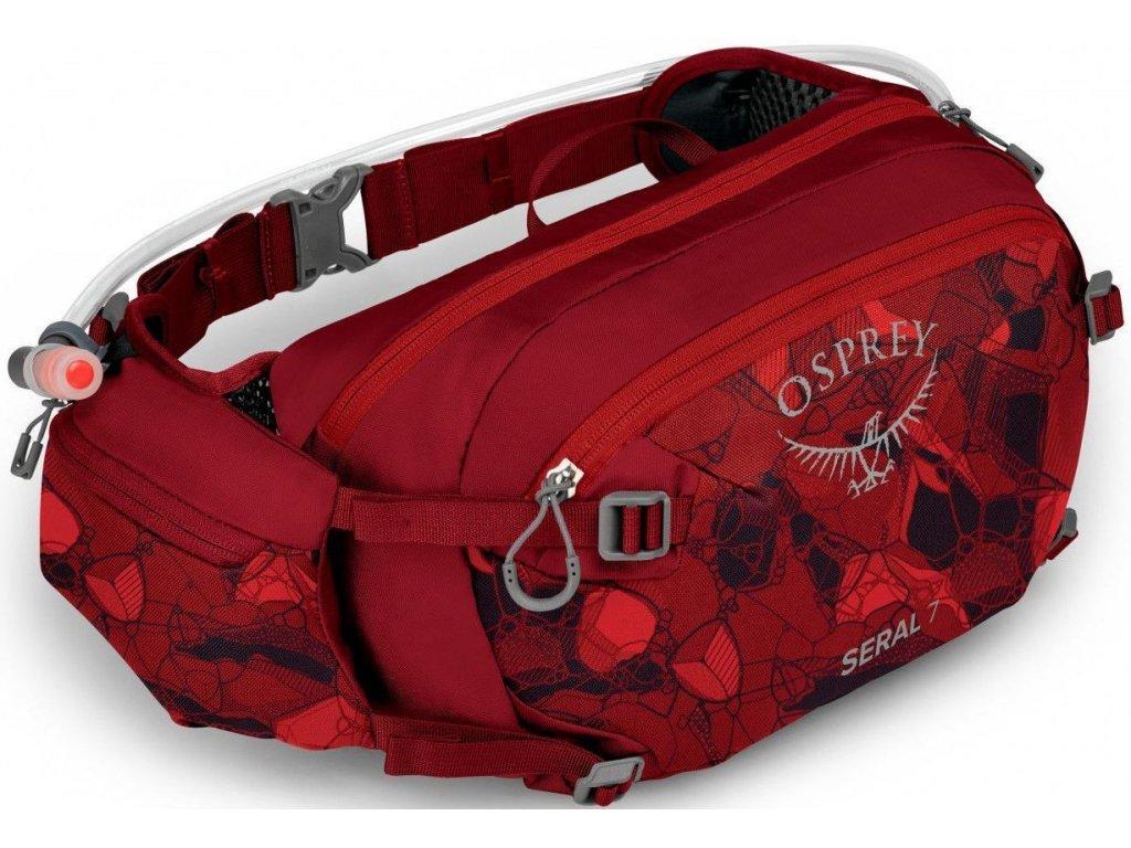 Ledvinka OSPREY SERAL 4 - claret red