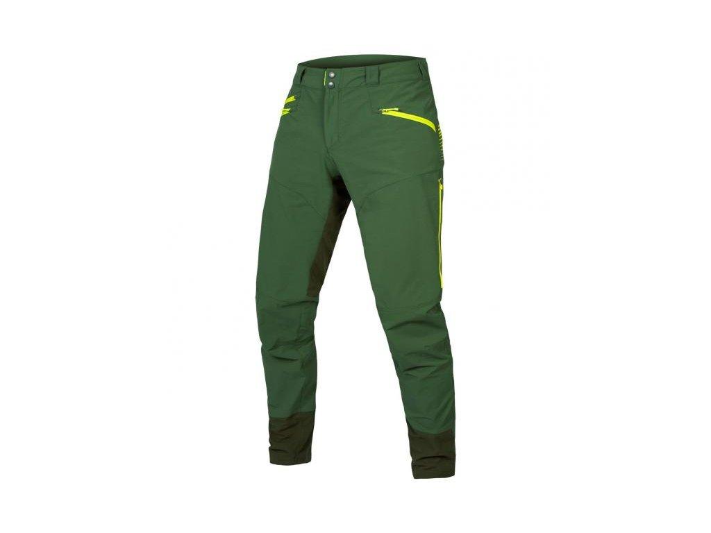 endura kalhoty singletrack ii green v