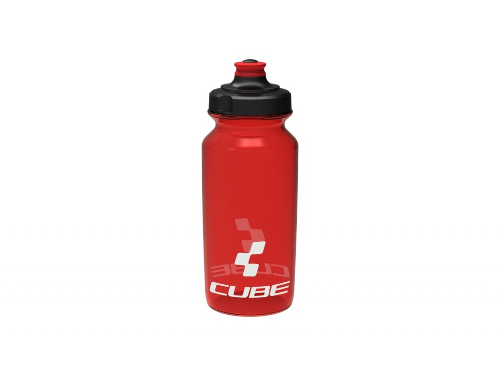 Láhev CUBE bottle 0,5l Icon red