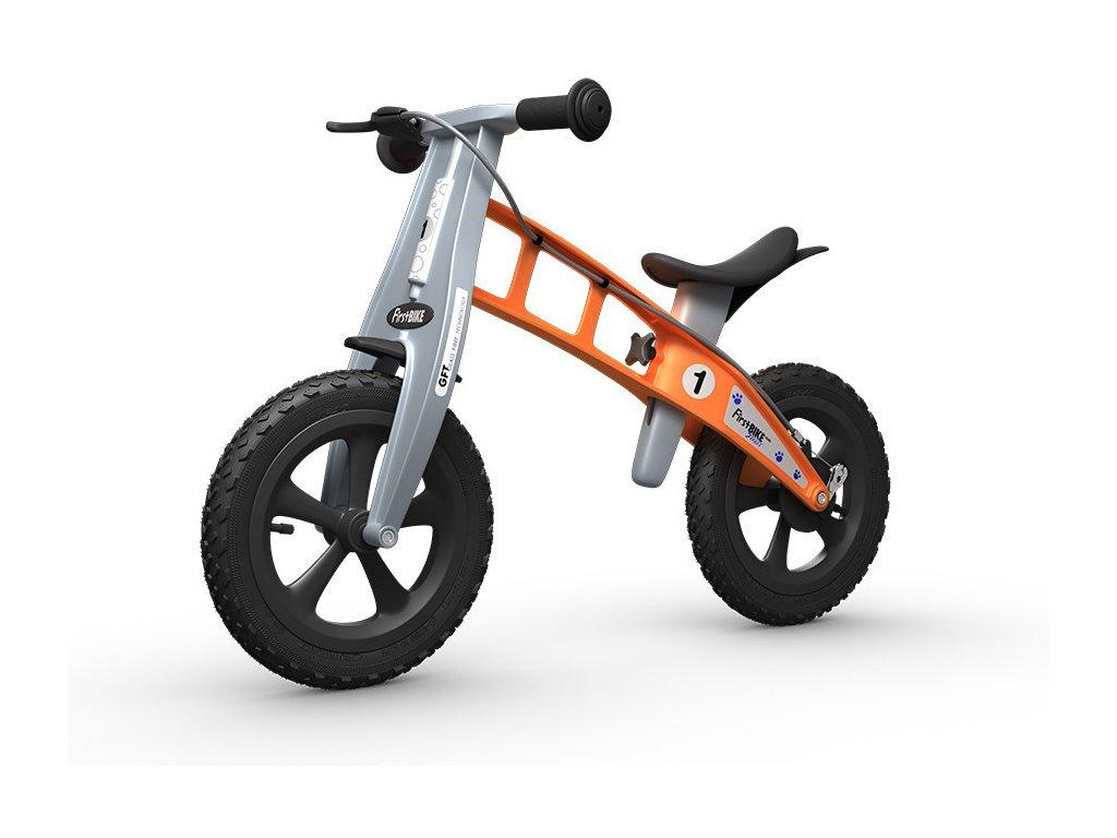 01 FirstBIKE Cross Orange with brake L2018 1024x1024