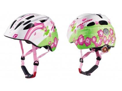 Přilba CRATONI Akino FAY white-pink glossy