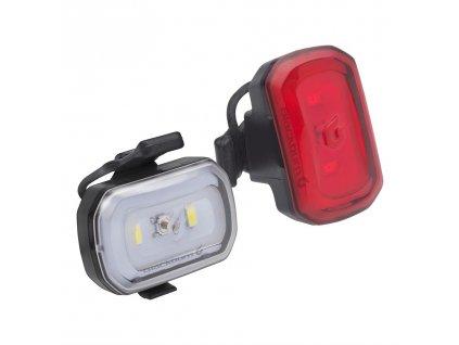 světlo BLACKBURN Click USB Přední + Click USB Zadní (Set)