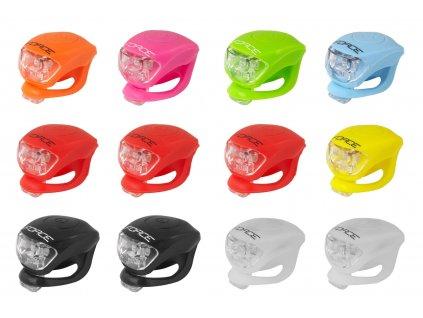 blikačky sada F DOUBLE zadní 1ks, mix barev