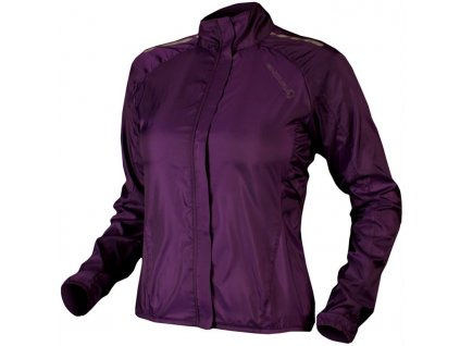 endura pakajak womens jacket purple rutland cycling