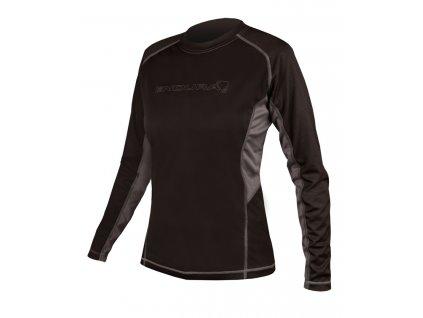 Dámský dres Endura Wms. Pulse dl. r. - černá - E6002BK