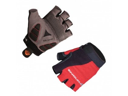 endura mighty mitts rukavice cervene e0010rd