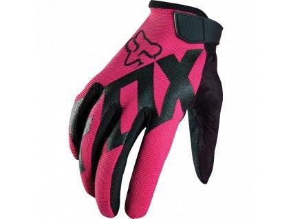 Dámské rukavice Fox Womens Ripley - růžové