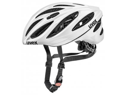UVEX HELMA BOSS RACE, WHITE