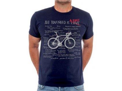 All You Need Navy Mens Tshirt b 360x