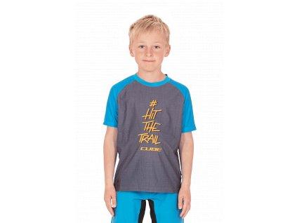 Dětský dres Cube JUNIOR Jersey S/S