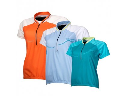 dres fox sierra jersey dámský oranžový - 23124