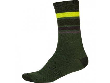 Ponožky Endura Merino Stripe - E1234GF