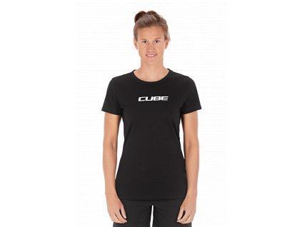 tričko CUBE ORGANIC WS T-SHIRT CLASSIC LOGO
