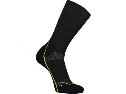 "merino ponožky Mons Royal MTB 9"" TECH SOCK black"