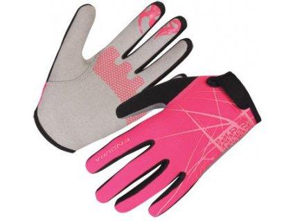 dětské rukavice Endura Hummvee růžové E7111PK