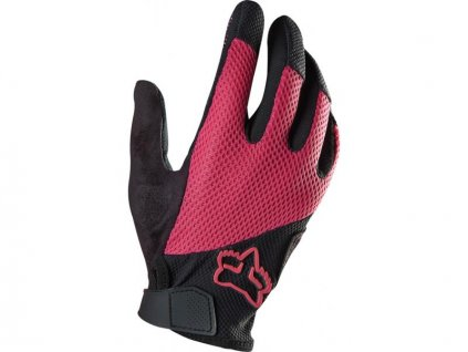 Rukavice Fox Reflex gel - dámské, růžové 12682-170