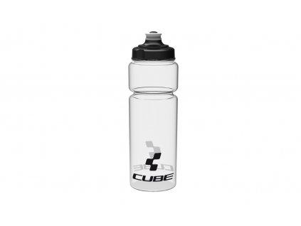 Láhev CUBE bottle 0,75l Icon transparent