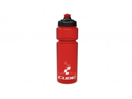 Láhev CUBE bottle 0,75l Icon red