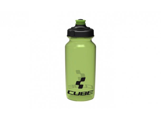 Láhev CUBE bottle 0,5l Icon green