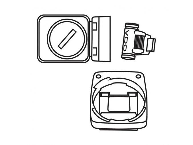 VDO bezdrát.(analogová) sada pro modely M1WL a M2WL (+magnet)