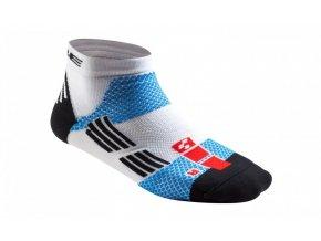ponožky Cube Race Cut Teamline 44/47