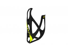 Košík CUBE Bottle Cage HPP matt black´n´flashyellow 13095