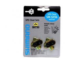 SHIMANO zarážky SM-SH56 (kufry) více směrné uvolnění!