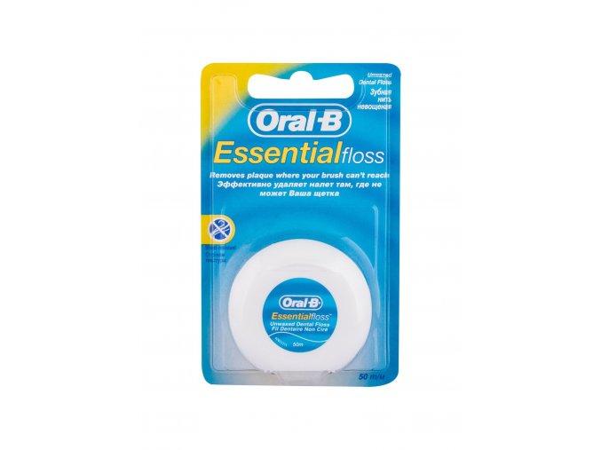 Oral B Essential Floss voskovaná mentolová nit 50m